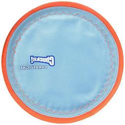 Dog Fetch PARAFLIGHT Far Flying Disc Frisbee Floating Toy LA