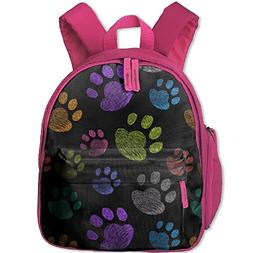 dog paw funny double zipper
