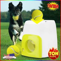 Dog Pet Toys Tennis Launcher Automatic Throwing Machine Pet