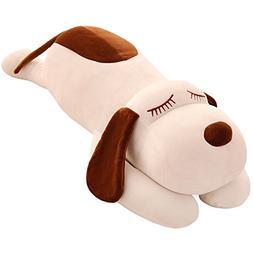 TTVOVO Dog Stuffed Animals 14 Inch Plush Toys Dolls Small Wh