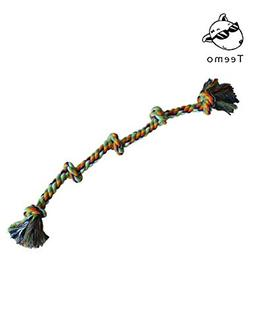 TEEMO Large Dog Rope Toy - for Medium to Large Breeds and Bi