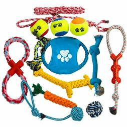 Dog Rope Toys  for Aggressive Chewers Teething Toys 100% Was