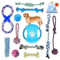 dog rope toys puppy chew