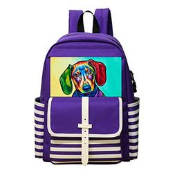 Dog School Bag Special 3D Print On Shoulder Children Childki