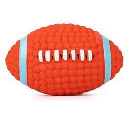 oneisall Dog Squeak Chew Ball Toys, Pet Durable Latex Balls
