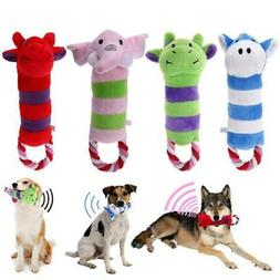 Dog Squeaky Plush Toys for Puppy Teeth Cleaning