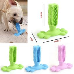 Dog Toothbrush Brushing Stick Teeth Cleaning Chew Toy For Pe
