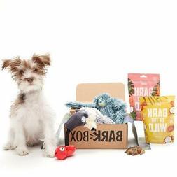 Dog Toy & Treat Bundle Assortment - Plush Toys, Chew Toys, S