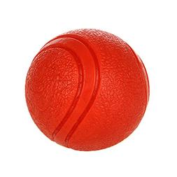 Dog Toy Ball Durable Interactive Solid Flexible Natural Rubb