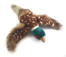 Sancho & Lola's Closet 'Philbert The Pheasant' Dog Toy with