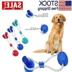 Dog Toy Floor Suction Cup with Ball for Pet Teeth Cleaning C