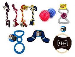Kole Dog Toy Gift Set - Dog Chew Toy, Dog Ropes and Toy Ball