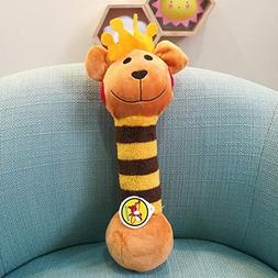 KMGNDJG Dog Toy Interaction And Chewing Bite Squeaky Plush T
