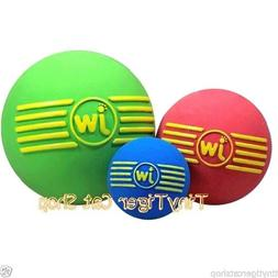 JW Pet Dog Toy ISqueak Ball small medium large Pick your dog