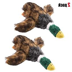 Running Pet 2 Pcs Pet Dog Toy Puppy Dog Chew Toy with Cartoo