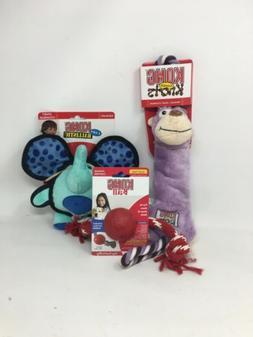 KONG Dog Toy Set With Kong Tugger Kong's Kong Ears Ballist