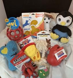 DOG TOY SPECIAL! Lot of 10ITEMS - PUPPY OR DOG TOYS! KONG,