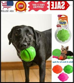 DOG TOYS  Dura Play Bacon Scented BALL FOR LARGE DOG, COLORS