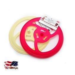 Dog Toys Flying Disc Natural Rubber Daiso Pet Toy Training P