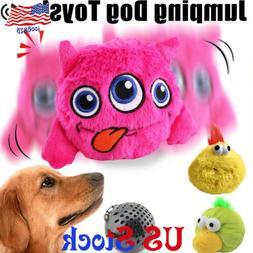 Dog Toys Interactive Plush Automatic Shake Crazy Bouncer Toy