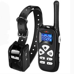 Ticent Dog Training Collar 1800ft Remote Rechargeable Waterp