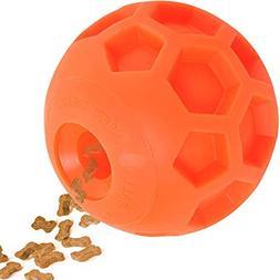 Hipat Dog Treat Ball, FUN INTERACTIVE Dog Food Dispenser Toy