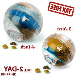 Dog Treat Dispenser Ball Toy IQ Treat Interactiv 3 4in Plast