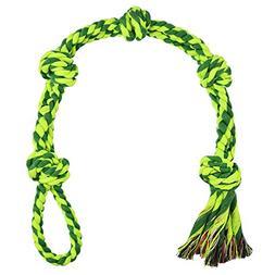 EEToy Dog Tug Rope,Extra Large Dog Toy,5-Knot Rope Tug,Heavy