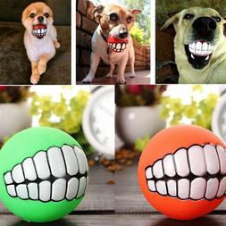 Dogs Pet Dog Toys Play Pet Supplies Cat Squeaky Teeth Silico