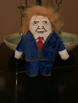 """Donald Trump BarkBox dog toy """"DOGNALD"""" with Squeaker. New Wi"""