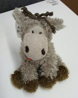 Donkey AND Lion Soft Plush Squeaking Dog Toys With 5 Squeake