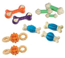 Nylabone Double Action Chews for Dogs Reduce Tartar and Fres