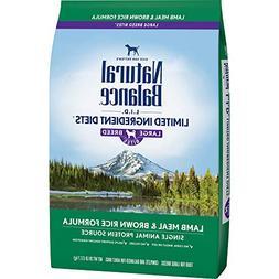 Natural Balance Dry Dog Food Limited Ingredient Diet for Lar