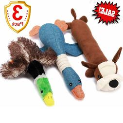 Duck Squeak Toys Dog Toy, Stuffed For Aggressive Chewers Hun