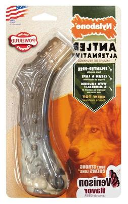 Nylabone Dura Chew Antler Alternative Dog Chew Toy Free Ship