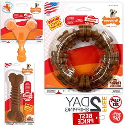 Nylabone Dura Chew Dog Toys for Aggressive Chewers Free 2 da