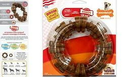 Nylabone Dura Chew Power Chew Textured Ring, Large Durable D