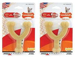 Nylabone Dura Chew Regular Original Flavored Wishbone Dog Ch