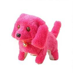 E-SCENERY Electronic Cute Walking Robot Dog Puppy Toy Figure