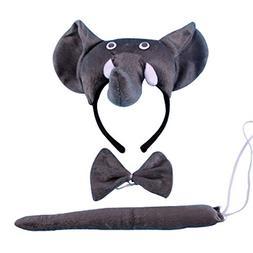 Children Performances Elephant Animals 3D Clothes Suit Dress