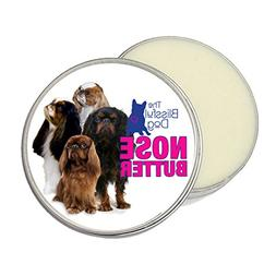 english toy spaniel nose butter