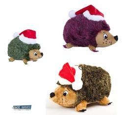 Dog Toy Christmas Santa Hedgehog Outward Hound Pet Holiday D