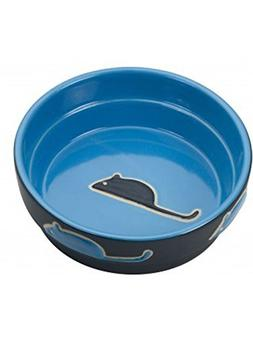 Ethical Pet Products  CSO6895 Fresco Cat Dish, 5-Inch, Blue