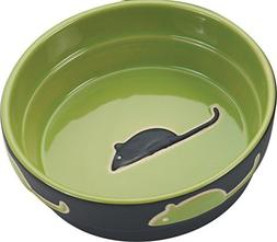 Ethical Pet Products  CSO6898 Fresco Cat Dish, 5-Inch, Green