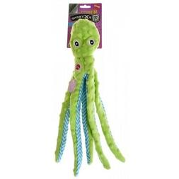 Ethical Pets Skinneeez Extreme Stuffingless Octopus Dog Toy