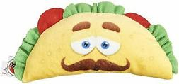 """Spot Ethical Soft Shell Taco Fun Face Food Dog Toy Duck 6"""" w"""