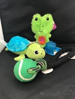 Everything is Green - lot of 3 dog toys