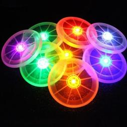 Exercise LED Frisbee Toy Multi Color Toys Pet Dog Supplies F