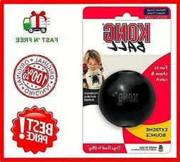 Kong Extreme Ball Dog Toy Black, Medium-Large, Free&Fast Shi