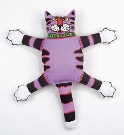 Fat Cat Squeak Dog Toy Mini Terrible Nasty Scaries 9 In. Tal